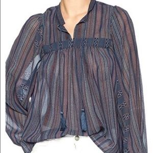 Lucky Brand Shear Peasant L